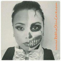 #halloween #skincare #makeup #costume