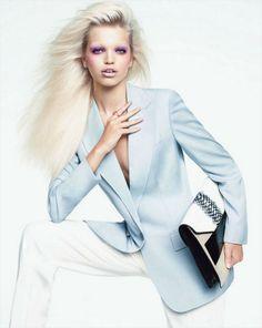Daphne Groeneveld for Harper's Bazaar US October 2012