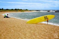Salt Pond Beach Park - Hanapepe in Kalaheo, Kauai, Hawaii Hawaii Surf, Kauai Hawaii, Beach Park, Professional Surfers, Learn To Surf, Surfboard, Pond, Surfing, Salt
