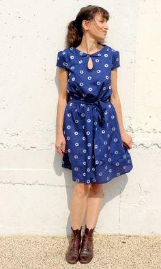 Miz Mozelle, finally ! by Jolies bobines | Project | Sewing / Dresses | Kollabora #diy #kollabora #dress #sewing