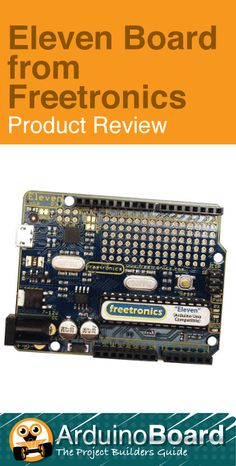 Eleven Board from Freetronics :: Arduino Hardware Product Review - CLICK HERE for Review http://arduino-board.com/boards/eleven