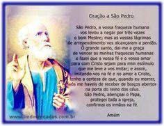 LINDOS RECADOS: Oração-a-São-Pedro.