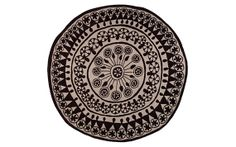 Rangoli $3,357 by designer Nani Marquina (Spain);  takes its name and inspiration from classic Hindu mosaics.