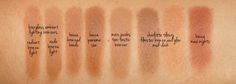 Becca Sunlit Bronzer Comparison Swatches | The Beauty Look Book