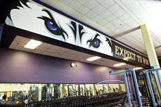 UW Athletics Weight Room. Expect to Win!