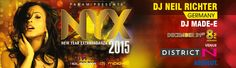 NYX - New Year Extravaganza 2015 in Hyderabad on December 31, 2014