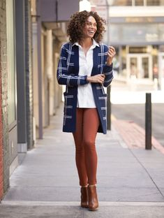 I really like this cardigan. Color and print.