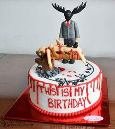 This Is My Birthday . HANNIBAL CAKE