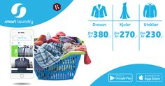 Vi gir deg renseriet på døren fra kr 0,- Besøk oss på:  🌐 www.smart-laundry.no Last ned appen nå:  Ios-http://apple.co/2qRMUaF Android-http://bit.ly/2qS82NZ #smartlaundry #levering #vasker #renser #Over30årserfaring