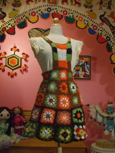 crochet jumper 뜨개 옷