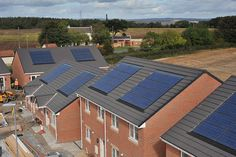 Energi install solar pv system on major social housing project.     Energy Source is our responsability to discover new alternatives.