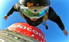 Base jumping in South Africa with the Apex HD 339