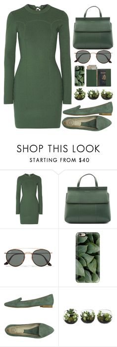 """""""Untitled #240"""" by lvlyuniqorn ❤ liked on Polyvore featuring 3.1 Phillip Lim, Tory Burch, Ray-Ban, Casetify, Rêve D'un Jour and Royce Leather"""
