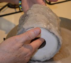 Candle Wax Dipped Toilet Paper | DIY: A TP Candle, aka Toilet Paper Candle. What? 39