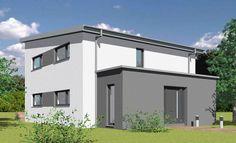 Pultdachhaus mit 154,97 qm Wohnfläche