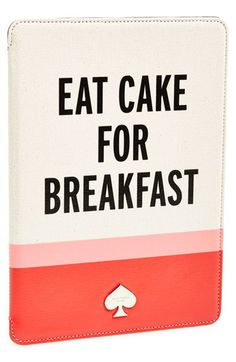 kate spade new york 'eat cake for breakfast' iPad Air case available at #Nordstrom