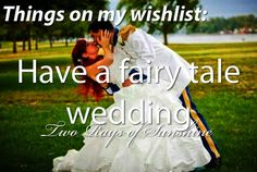 Have a fairy tale wedding