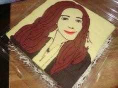 cake painting