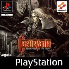 Castlevania: Symphony of the Night (Playstation) Konami, 1997 Street Fighter Alpha 2, Age Of Empires, Games Box, Old Games, Retro Video Games, Video Game Art, Retro Games, Playstation 2, Xbox