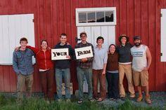 "Our favorite organic farm....""Your Farm"" run by Benner Dana and Danielle Allen in Fairlee, VT"