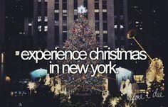 christmas in new york :)