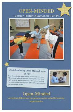 PYP PE Resources: Learner Profile Posters - PYP PE with Andy