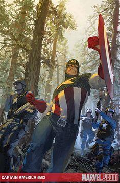 Captain America #602 by Gerald Parel