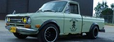 I liked my Datsun pickup. Might look for one to restore.