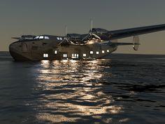 Globetrotter BOAC British Overseas Airways Corporation Speedbird Flying Boat