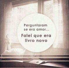 Sempre algum livro.....