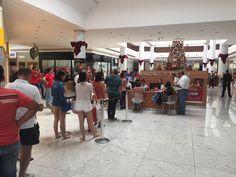 Shoppings de Londrina lotados na véspera de Natal, o Grupo Frezarin presente fornecendo soluções de Hardware para automatizar as campanhas. #GrupoFrezarin #catuaishopping #londrinaboulevardshopping #londrinanorteshopping