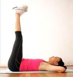 straight leg up exercise