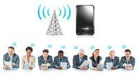 Con el AE800 se pueden compartir datos desde celulares y tabletas