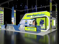 easy aphoteke - exhibition stand design and documentation central europe  RATES> http://www.i-cad.es/exhibition-stands-design/