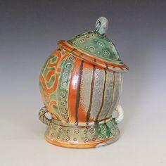 Fine Mess Pottery: Jaunty Jars