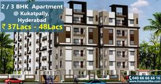 #2BHK and #3BHK flats for sale in #Kukatpally, Hyderabad with a price range from 37 Lacs to 48 Lacs. For more details click on http://www.homesulike.com/index.php/properties/viewdetails/Residential-Apartment-for-Sale-in-RV-Lakshmi-Grande-1368Sq.ft Call us 040-66666616 for site visit