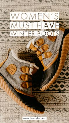 Women's Must Have Winter Boots - - Must have winter boots for women. Sorel, UGG, LL Bean, Sperry, and more! Ll Bean Winter Boots, Cute Winter Boots, Stylish Winter Boots, Short Winter Boots, Winter Boots Outfits, Winter Shoes For Women, Winter Fashion Boots, Milwaukee, Vestidos
