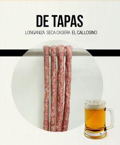 #tapas #embutido #cerveza #aperitivo #longanizadepascua #elcallosino