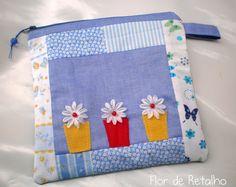 Flor de Retalho: Nécessaire patchwork