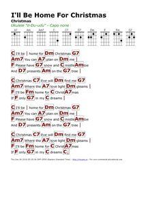 Christmas Ukulele Songs, Christmas Chords, Christmas Piano Music, Xmas Songs, Ukulele Fingerpicking Songs, Ukulele Chords Songs, Guitar Songs, Ukulele Songs Beginner, Ukelele