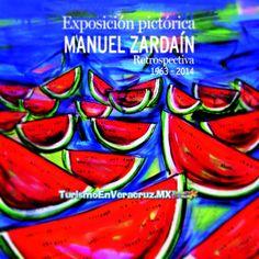 Expondrá la obra de Manuel Zardaín http://www.turismoenveracruz.mx/2014/05/expondra-agora-de-la-ciudad-la-obra-de-manuel-zardain/