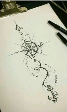 I like this compass alot and the font is just perfect.