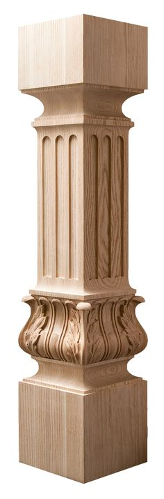 You searched for posts-turnings - Quality Architectural Woodcarvings - Art for Everyday Inc.™ (AFE) Quality Architectural Woodcarvings – Art for Everyday Inc. Wooden Front Door Design, Wooden Front Doors, Newel Posts, Acanthus, Photo On Wood, Woodworking Furniture, Columns, 3d Design, Modern Classic