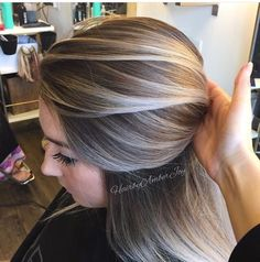 Color Ash blonde balayage This is it this is the colour I want