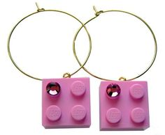 Mademoiselle Alma - LEGO® bricks and SWAROVSKI crystals Jewelry - featured on InventorSpot - Mademoiselle Alma LEGO Love Design Jewelry Makes Mothers Day Gifts Easy - http://www.inventorspot.com/articles/mademoiselle-alma-lego-love-design-jewelry-makes-mothers-day-gif - http://www.etsy.com/shop/MademoiselleAlma - http://www.facebook.com/MademoiselleAlma - http://www.pinterest.com/yourfrenchtouch #MademoiselleAlma #LEGO