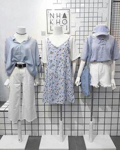 casual korean fashion which looks fabulous Korean Fashion Trends, Korean Street Fashion, Korea Fashion, Japan Fashion, Style Outfits, Casual Outfits, Cute Outfits, Fashion Outfits, Womens Fashion