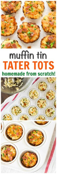 Tater Tots In A Cup Cake Pan