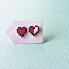Hey, I found this really awesome Etsy listing at https://www.etsy.com/listing/221777502/shrink-plastic-zelda-heart-earrings