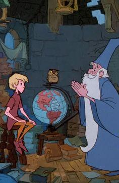 Merlin El Encantador.