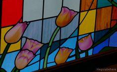 tuli6 Tulipanes vitraux. #vitraux  #vidrio   #glass-art  #vetrata-decorata